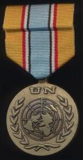 United Nations Medal: UNAVEM I, II, III, IV (United Nations Angola Verification Mission(s) 1989-1999)