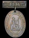 British Empire: Overseas Nursing Association. Cape Badge. Silver. With dated integral brooch bar '1911'