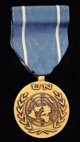United Nations Service Medal: With UNTSO (United Nations Truce Supervision Organisation) riband. 1948 -