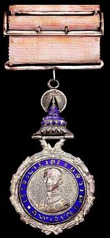 Thailand: The Most Illustrious Order of Chula Chom Klao. 3rd Class 'Junior Companion' Breast Badge