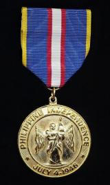 Philippines (Republic): Independence Medal 1946
