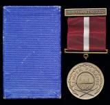United States: Coast Guard Good Conduct Medal. 1st type Medal (circa 1926-1954)